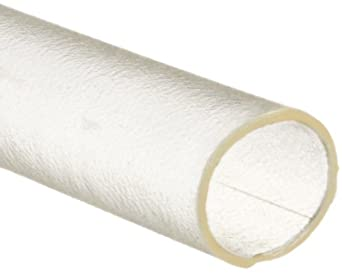 "Raychem Altera MT5000-1/16-X USP Class VI Clear Polyolefin Heat Shrink Tubing, 0.062"" ID"