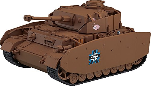 ねんどろいどもあ ガールズ&パンツァー IV号戦車 D型改[H型仕様] ノンスケール ABS&PVC製 塗装済みフィギュア