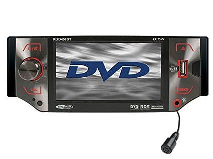 Caliber RDD401BT Autoradio CD/DVD Noir (Import Allemagne)