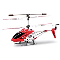 Syma 2nd Edition S107 S107G Version Indoor Helicopter (Red) from Syma S107G 2nd Edition Red