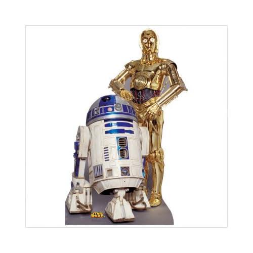 Life Size Star Wars R2-D2 & C-3PO Cardboard Cutout