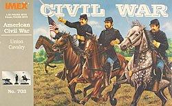 Union Cavalry Civil War Set 1/32 Imex