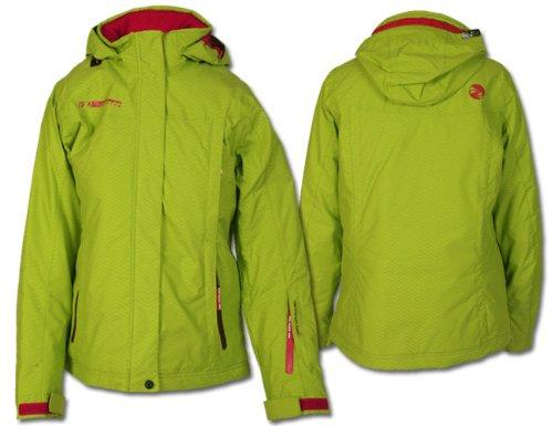Ziener Damen Skijacke Skaje Lady lime green hb stru Gr. 38
