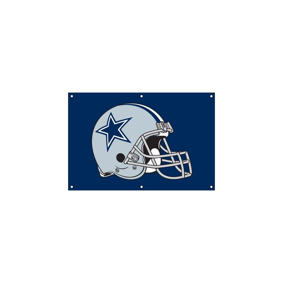 Dallas Cowboys NFL Applique & Embroidered Team Banner (36x24)