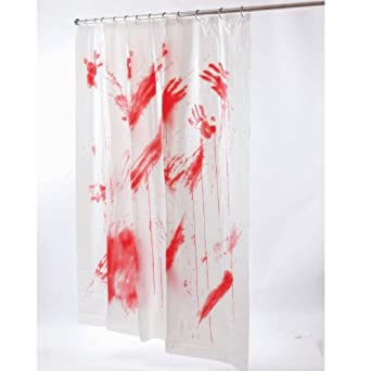 Bloody Shower Curtain (Standard)