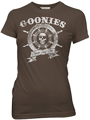 Official The Goonies Never Say Die Shirt - Juniors Fit - S to L