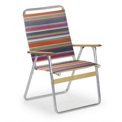 Telaweave Folding Arm Chair Color: Techno