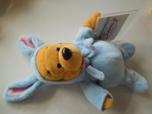 Bean Bag Bunny Pooh 2000 (blue) - The Disney Store Mini Bean Bag Plush - 1