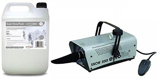 set-completo-macchina-della-neve-snow-con-telecomando-5-litri-liquido-neve