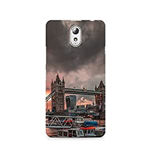 TAZindia Designer Printed Hard Back Case Mobile Cover For Lenovo Vibe P1M