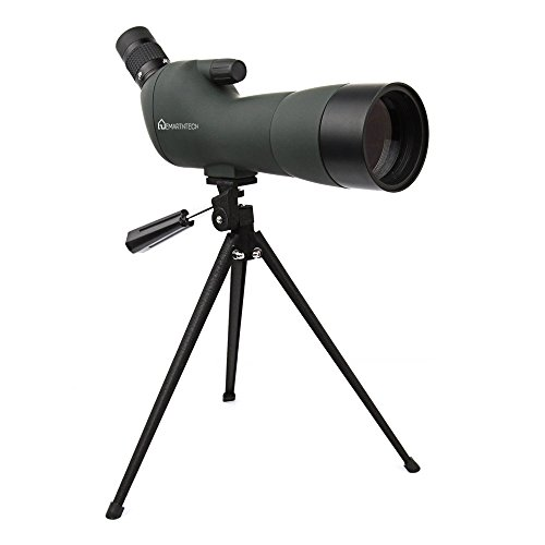Best Price Emarth 20-60x60AE Waterproof Angled Spotting Scope with Tripod, 45-Degree Angled Eyepiece...
