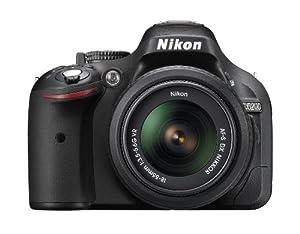 Nikon D5200 24.1 MP CMOS Digital SLR with 18-55mm f/3.5-5.6 AF-S DX VR NIKKOR Zoom Lens (Refurbished) (OLD MODEL)