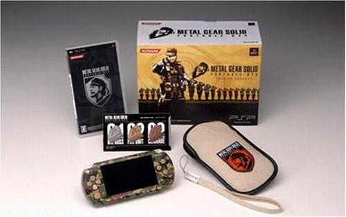 メタル ギア ソリッド ポータブル オプス プレミアム パック(PSP「プレイステーション・ポータブル」 カモフラージュ同梱)(VP033-J1)