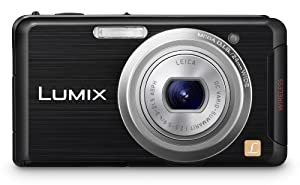 Panasonic DMC-FX90K 12.1 MP Digital Camera with 5x Optical Zoom and Touchscreen (Black)