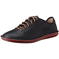 Clarks Tamho Race, Herren Derby Schnürhalbschuhe, Schwarz (Black Leather), 42.5 EU (8.5 Herren UK)