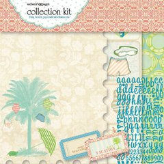 Webster's Pages Palm Beach Paper Kit 12'X12'