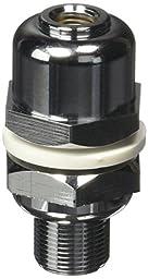 TruckSpec TS-105MAX Heavy-Duty Chrome Plated Antenna Maxi Stud with SO-239 Connector