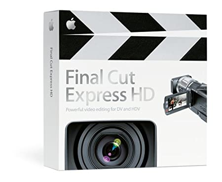 Apple Final Cut Express HD 3.5 (Mac) MA261Z/A [OLD VERSION]