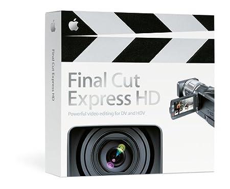 Apple Final Cut Express HD 3.5 (Mac) MA261Z/A [OLD VERSION]