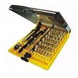 マルチトルクスドライバーT3~T25、Y字、 星型ドライバー他 特殊工具 45in1
