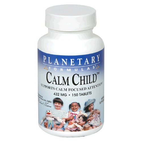 Planetary Formulas Calm Child, 432 Mg, Tablets, 150 Tablets (Pack Of 3)