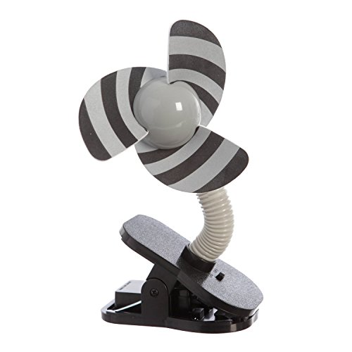 Dreambaby Tee-Zed Clip on Fan - Silver/Black - 1 Count (Foam Clip On Fan compare prices)