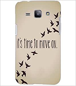 PrintDhaba Quote D-4197 Back Case Cover for SAMSUNG GALAXY J1 (Multi-Coloured)