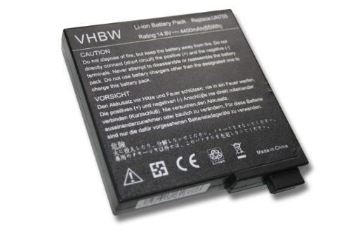 HOCHLEISTUNGS-AKKU 14.8V 4400mAH passend f&#252;r TARGA VISIONARY XP 210 etc. ersetzt 23UD40003A / 23-UD4000-3A / 23-UD4200-00 / 63-UD4024-30 etc.