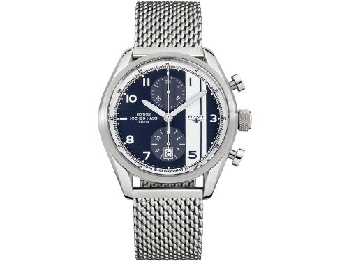 ELYSEE Made in Germany Magny Court Limited Edition 100 pieces 70950M 44.5mm Automatic Silver Steel Bracelet & Case Mineral Men's Watch