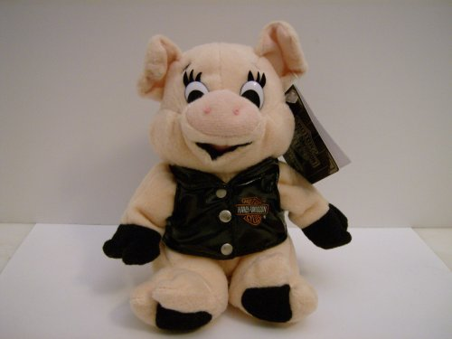 Harley-Davidson Bean Bag Plush Ratchet the Hog - 1