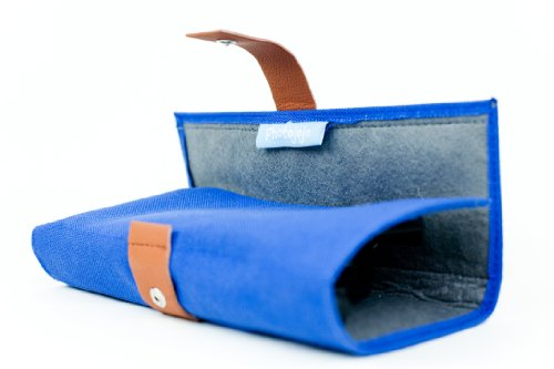 The Blue Iphone Lens Wallet
