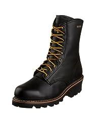 Golden Retriever Men's 9097 Waterproof Steel Toe Logger