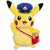 Pokemon Pikachu Special Delivery Plush Toy Postman Cap With Package Stuffed Animal Soft Figure Doll With A Free...