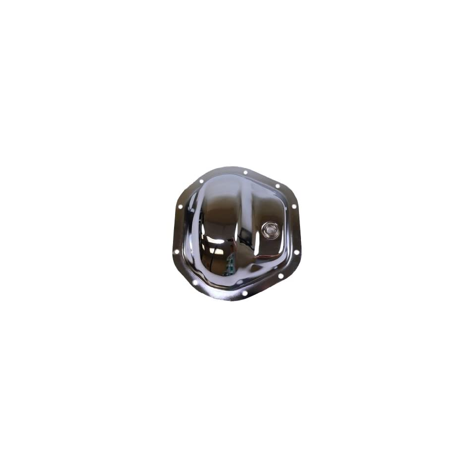 Racer Performance 1966 03 Dodge/Ford/GMC/Jeep Dana 44 Chrome Steel Front/Rear Differential Cover   10 Bolt