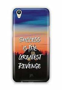 YuBingo Success is the Greatest Revenge Designer Mobile Case Back Cover for Oppo F1 Plus