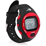 Heart Rate Monitor Watch - Best for Men & Women - Running, Jogging, Walking, Gym Exercise, Iron Man, Cycling, Sports - Digital Timer Stop Watch, Alarm Multi Function - Reduce Stress for Healthy Lifestyle - Watch Case Included - Compressionz