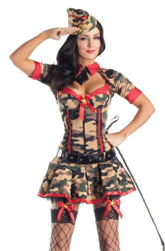 Party King Women's Military Brat Adult Costume