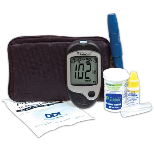 Cheap Prodigy AutoCode Talking Blood Glucose Monitoring Kit Bilingual English or Spanish (B000YL5W94)