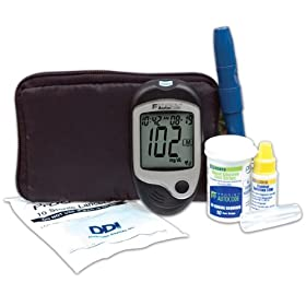 Prodigy AutoCode Blood Glucose Talking Monitor