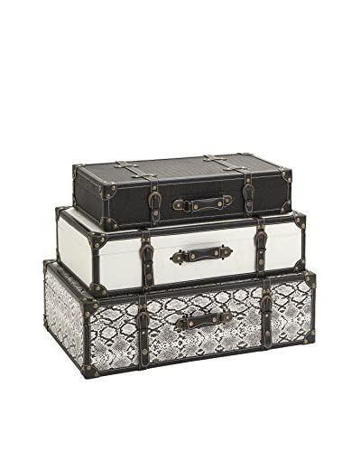 Set of 3 Aberdeen Storage Trunks As You See