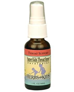 Отзывы Herbs For Kids Super Kids Throat Spray Peppermint