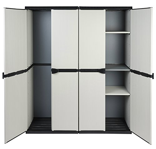 kunststoff besenschrank preisvergleiche erfahrungsberichte und kauf bei nextag. Black Bedroom Furniture Sets. Home Design Ideas