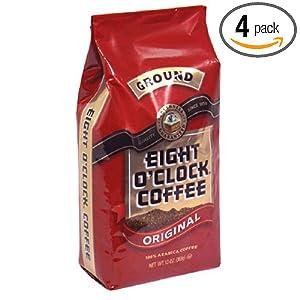Amazon - Eight O'Clock Coffee 12-Ounce Bags (4 -pack) - $10