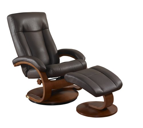 Swivel Recliner With Ottoman front-421879