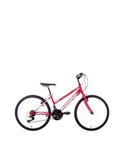SCHIANO Bicicleta 24 Wild Cat, 18V Rojo