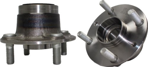 Brand New (Both) Rear Wheel Hub and Bearing Assembly Mazda 323, MX-3,Protege FOrd Escort Mercury Tracer 4 Lug W/o ABS (Pair) 513030 x2 (Mazda 3 Rear Wheel Bearing compare prices)
