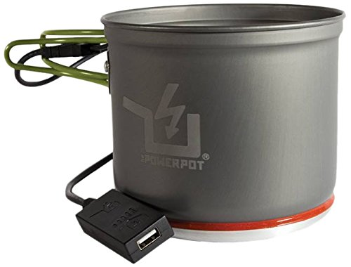Power Practical 5 PowerPot - Charge Your Devices While You Cook!