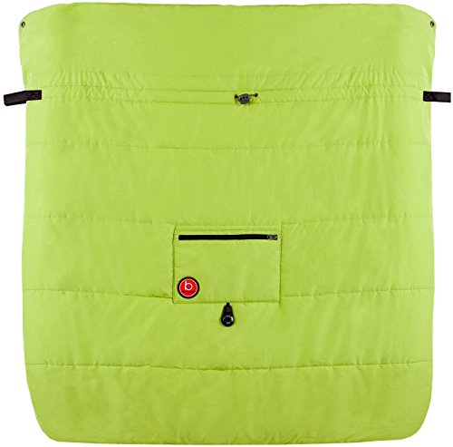 Blue Banana Double Stroller Blanket - Green