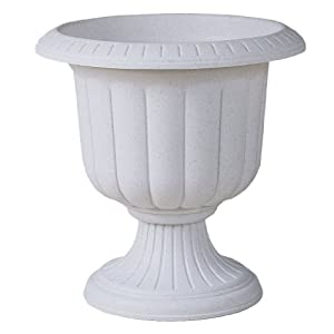 Allied Precision Industries CRU23WH Classic Renaissance Urn, 23-Inch, White (Discontinued by Manufacturer)