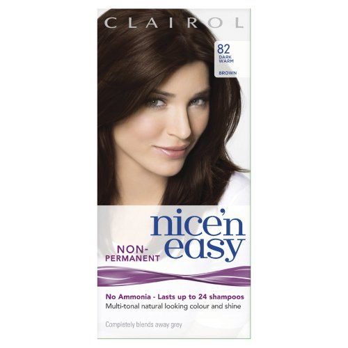 Nice 'N Easy By Lasting Colour Non Permanent Hair Colourant 82 Dark Wam Brown (Pack of 3)